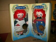 """""""THE ADVENTURES OF RAGGEDY ANN & RAGGEDY ANDY"""" by JOHNNY GRUELLE / 1996 DOLLS"""