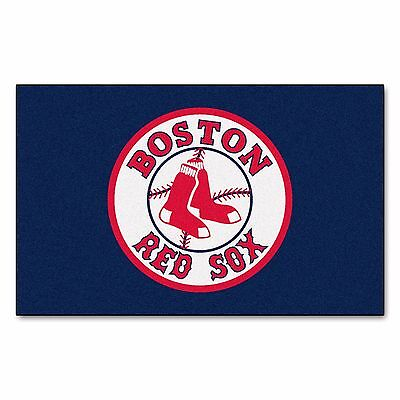 Boston Red Sox 5 X 8 Ulti Mat Area Rug Floor Mat