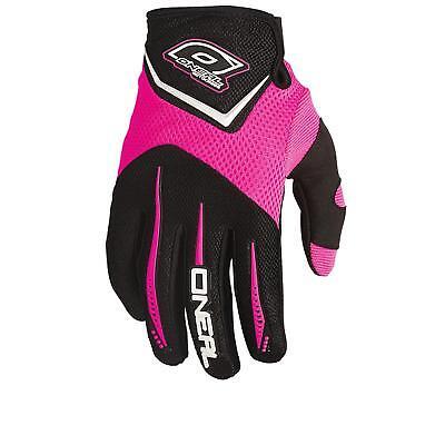 ONeal Element MX Handschuhe Girls Pink Edt Moto Cross DHl Damen MTB Mountainbike