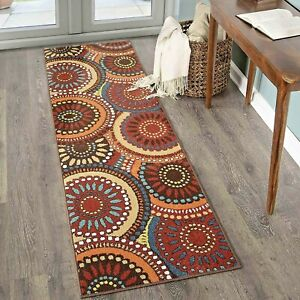 Details about RUNNER RUGS CARPET RUNNERS AREA RUG OUTDOOR CARPET COLORFUL  PATIO KITCHEN RUGS ~