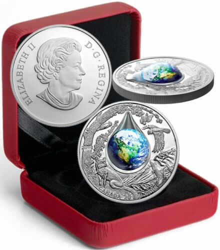 Mother Earth Coin $20 2016 1OZ Pure Silver Proof Canada Coin