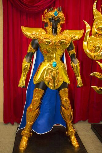 ARMATURA D/'ORO LEO COMPLETO SCALA 1:1 INDOSSABILE COSPLAY costume Saint Seya