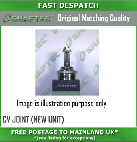 CV1626N 565 FR OUTER CV JOINT NEW UNIT FOR KIA SPORTAGE 2.0 02050106
