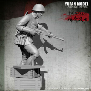 YUFAN 1//35 Chinese People/'s Liberation Female Soldier V2 PLA