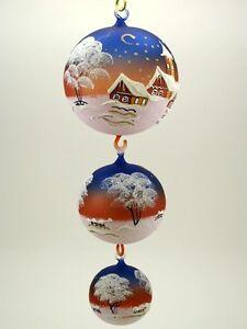 6x befüllbare Christbaumkugeln Likörkugeln Weihnachtsschmuck Party Dekoration
