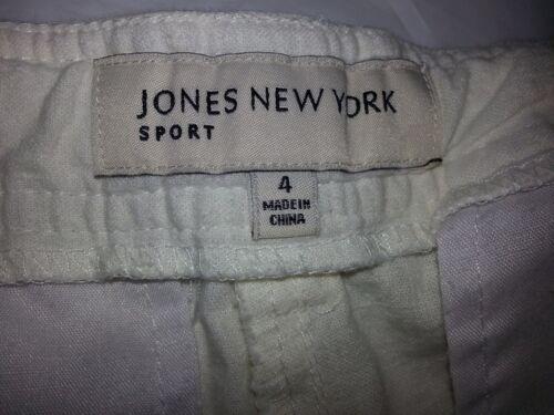 Pants Sport York Jones New Cream Women's Sheer Drawstring W Sz 4 qY6qxwn