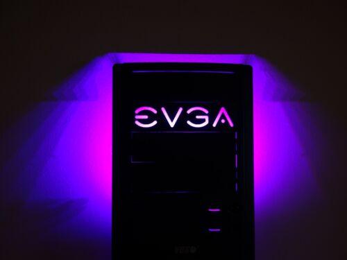 "5.25/"" EVGA tray drive bay bracket filler computer pc modding Mod led custom"