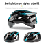 miniature 7 - Ultralight Cycling Helmet Unisex Adult Mountain Bike Bicycle Helmet with Goggles