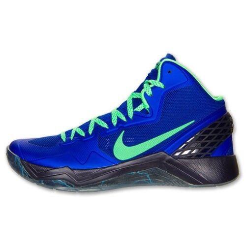 9601c4bfa432 Nike Zoom Hyperdisruptor Mens Basketball Shoes Blue Sneakers Sneakers  Sneakers 548180 402 ba4a14