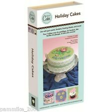 CRICUT *HOLIDAY CAKES* SHAPES FONT CARTRIDGE NEW BIRTHDAY CHRISTMAS PARTY BORDER