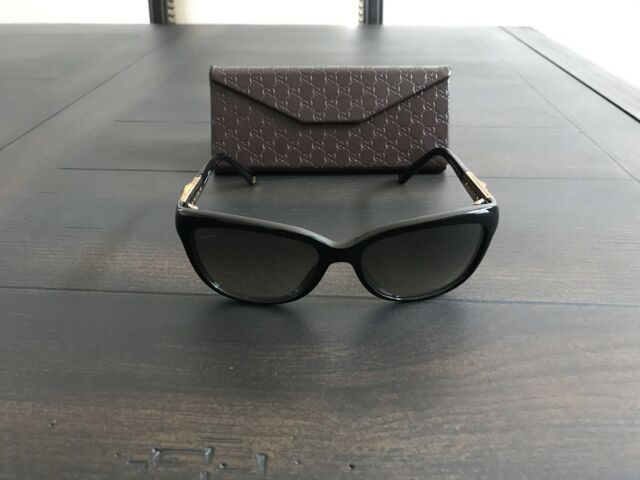 050b0bc39bd Source · Authentic Gucci GG3672S Havana Wr9la Women s Bamboo Polarized Gucci  Sunglasses ...