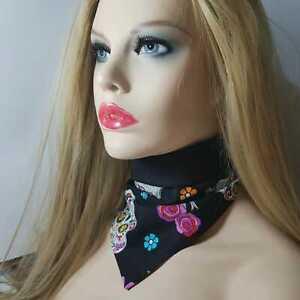 Bandana scarf neckerchief cowboy biker head wear neck wrist gangster rapper gift