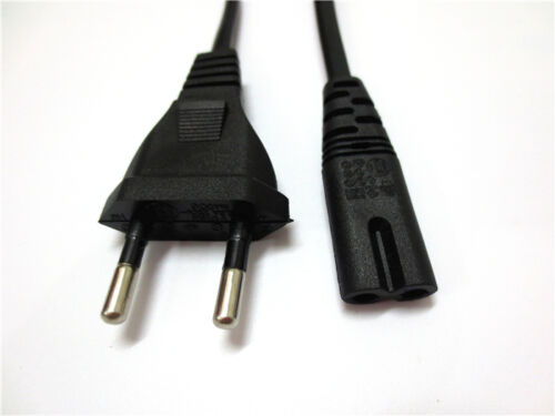 AC EU Power Cord Cable For Boombox Radio CD Player Stereo Receiver Home Theater