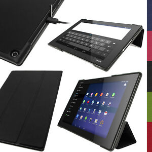 PU-Leather-Smart-Case-for-Sony-Xperia-Z2-10-1-034-SGP511-Tablet-Stand-Flip-Cover