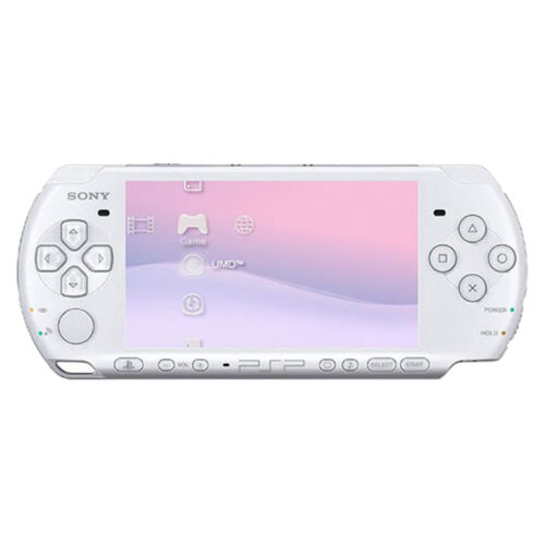 1 of 1 - Sony PSP 3000 Pearl White Handheld System