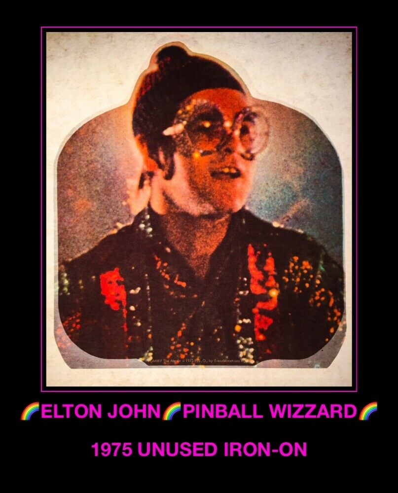 VTG 70's ELTON JOHN rock The Who TOMMY Roger Dalt… - image 1