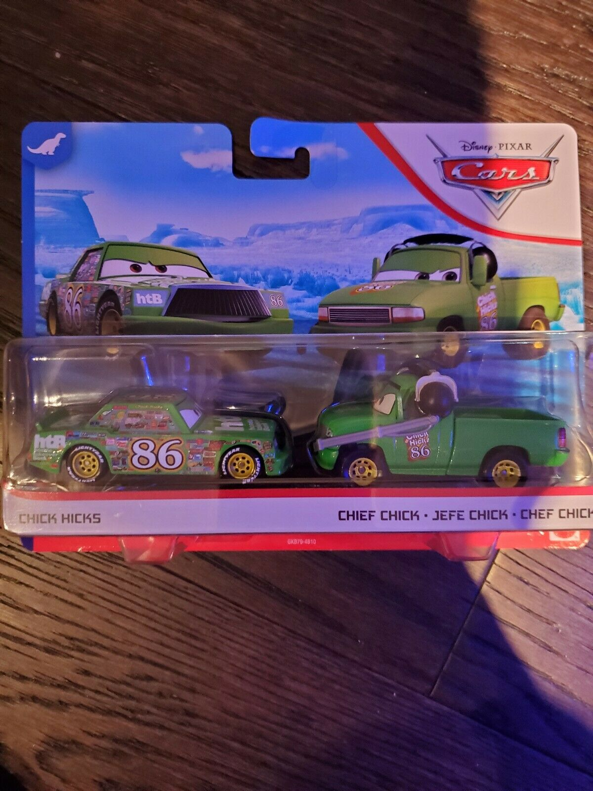 Disney Pixar Cars Chick Hicks Chief DINOCO 400