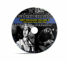 QST Magazine, Volume 2, 200 Classic Old Time Amateur Ham Radio OTR DVD CD C06