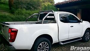 To-Fit-2016-Nissan-Navara-NP300-Sport-Rollbar-Roll-Bar-Stainless-Steel