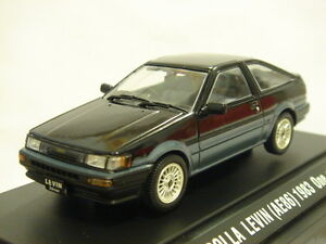 toyota corolla levin ae86 apex twincam 1983 1 43 ebbro japan ebay. Black Bedroom Furniture Sets. Home Design Ideas