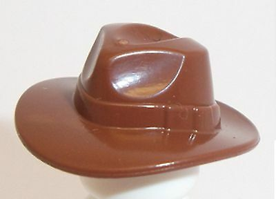 Lego FEDORA Cowboy HAT Tan # pack of 5 # for minifigure #