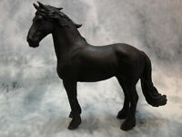 Collecta Nip Friesian Stallion - Black 88439 Toy Model Horse Figurine