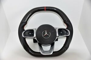 Mercedes-Benz-Carbon-Lenkrad-Sportpaket-AMG-A35-A45-W177-C118-C205-W463-C213