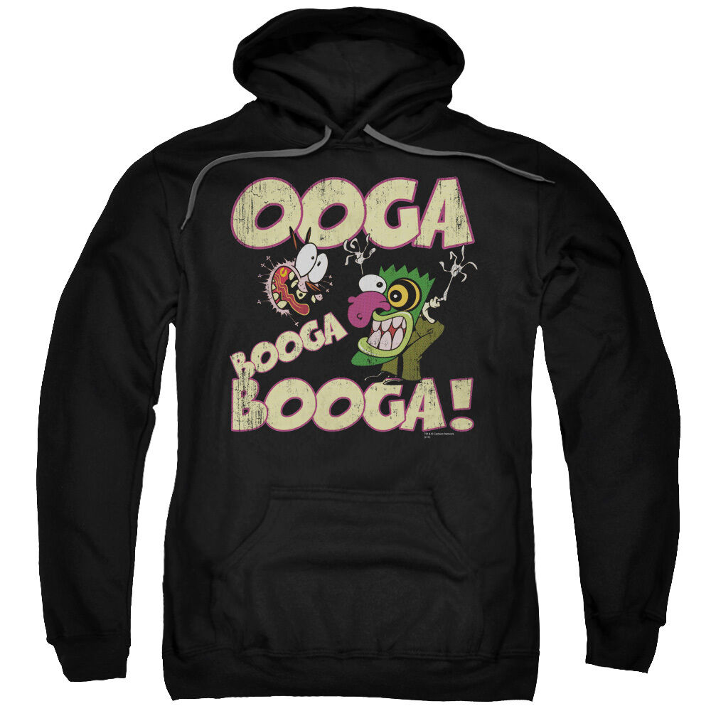 Courage Cowardly Dog OOGA BOOGA BOOGA  Licensed Sweatshirt Hoodie
