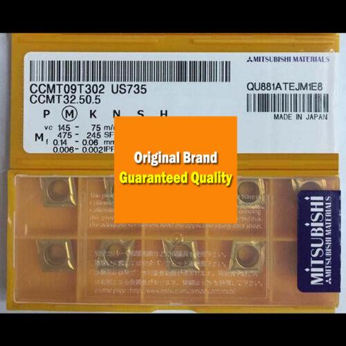 10PCS in BOX Original MITSUBISHI CCMT09T302 US735 CCMT32.50.5 Carbide Insert New