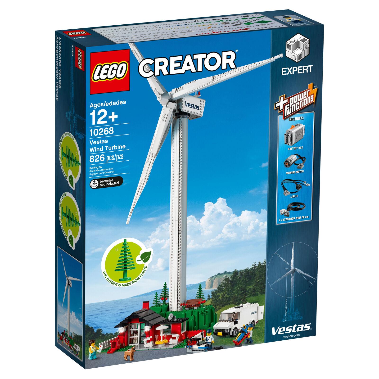 Lego Creator Vestas Wind Turbine Set 10268 H
