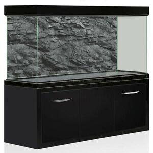 3D-Effect-Black-Stone-Texture-Aquarium-Background-Poster-Fish-Tank-Backdrop-Deco