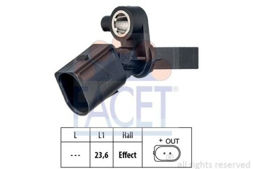 ABS sensor sensor Made in Italy-OE equivalent Facet 21.0013