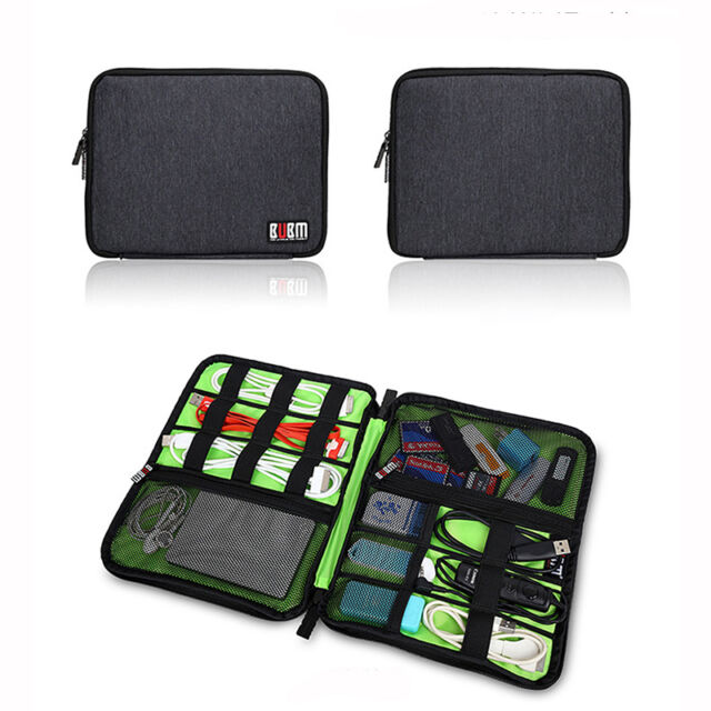 BUBM Hard Drive Earphone Cables USB Flash Drives Travel Case Digital Storage Bag