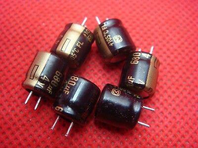 50pcs 4V 680uF 4V Panasonic FL 8x9mm Low ESR MB//VGA Capacitor