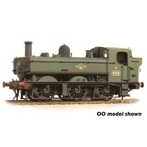 Graham-Farish-371-988-N-Gauge-BR-Lined-Green-64xx-Pannier-6419