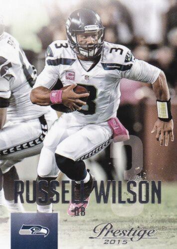 #8 Russell wilson 2015 Panini Prestige Football Walker