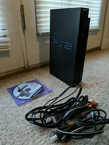 Sony-Playstation-2-PS2-FAT-Console-Bundle-Cords-and-Games-Model-No-SCPH-39001