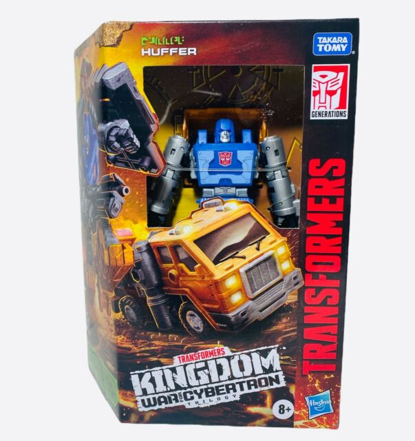 Transformers Kingdom War for Cybertron HUFFER Deluxe Class Action Figure 🔥🔥