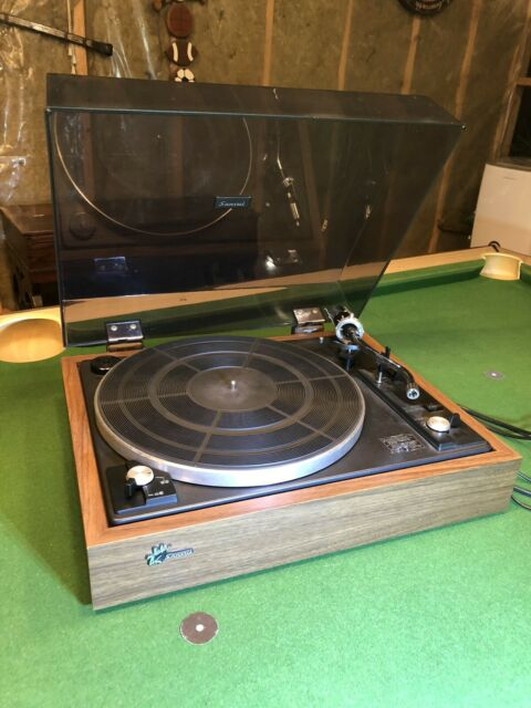 Vintage Sansui SR-212 Auto Return Turntable, 2-Speed, Belt Drive, For Parts