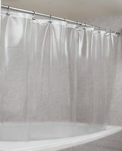 Image Is Loading Epica Strongest Mildew Resistant Shower Curtain Liner On