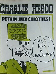 Charlie-View-No-119-Bis-February-1973-Wolinski-Petain-Aux-Chiottes