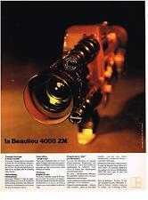 PUBLICITE   1976   BEAULIEU   camera 4008 ZM