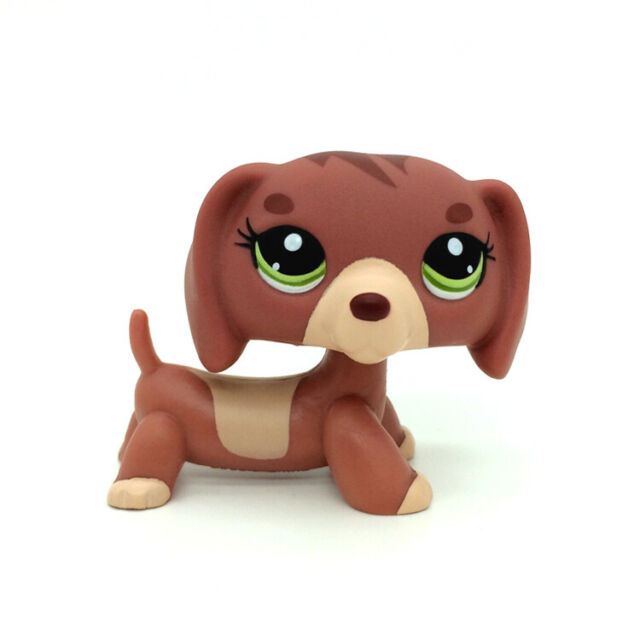 Hasbro Littlest Pet Shop LPS Dachshund Dog /& Baby Figure