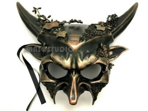 Horned Devil Masqeurade Ball Halloween Costume Party Animal Mask Birthday Party