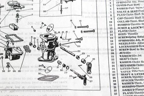 Details about  /GENUINE ZENITH Carburetor Kit fits series TU4C TU4 carb  Bi6