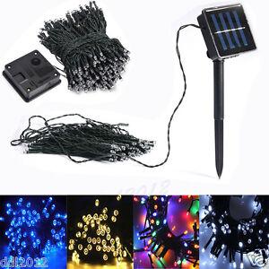100-200-LED-Fairy-Lights-String-Garden-Outdoor-Party-Wedding-Christmas-Decor-Hot