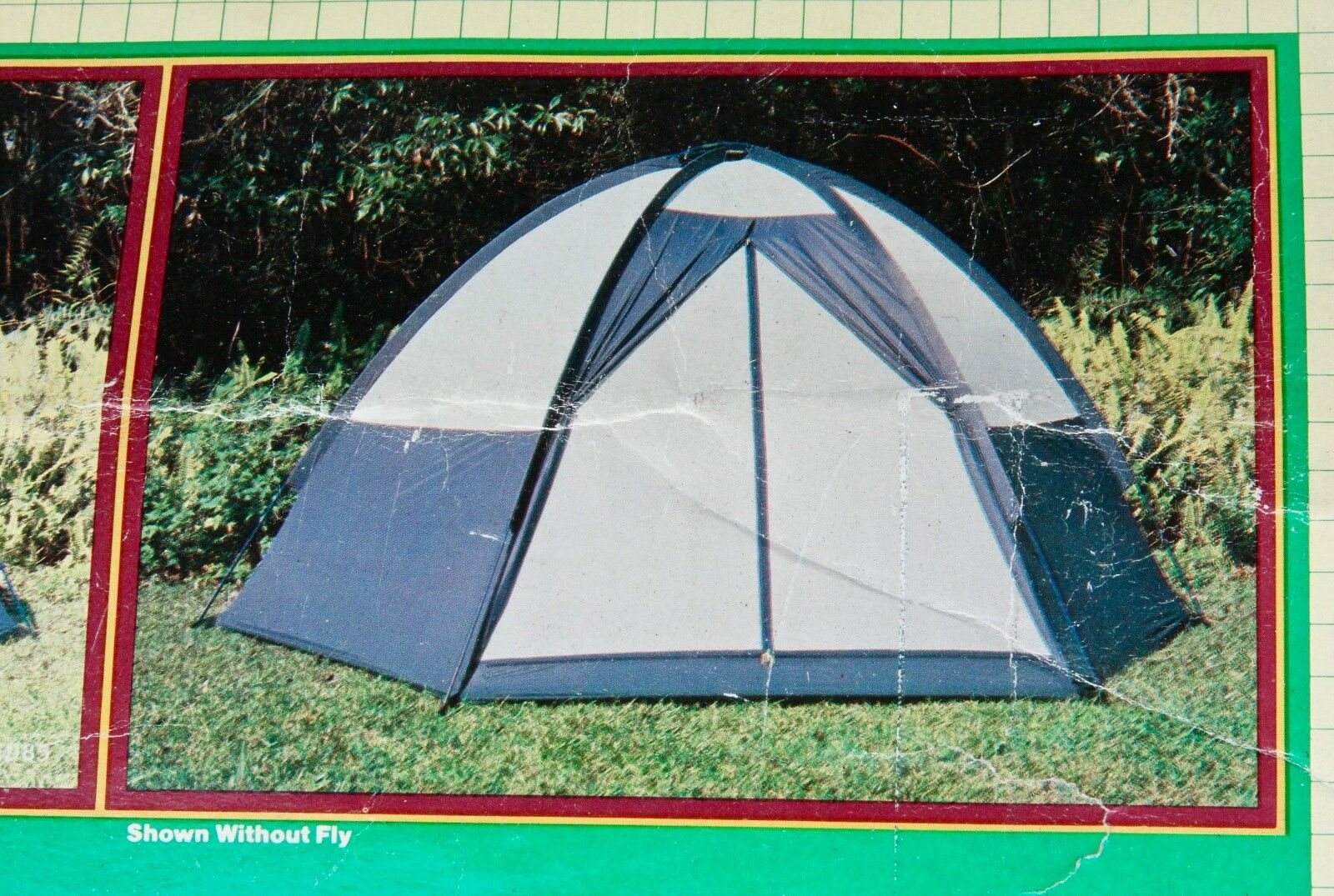 Family Dome Tent - 10' x 12' x 6' Nylon Fiberglass Zipper Mesh Camping Outdoor