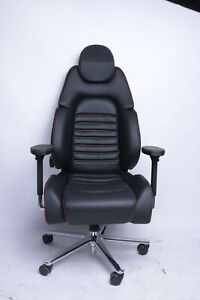 Ferrari 360 Bürostuhl Office Chair Gaming Stuhl Leder 599 F40 F151 F149 Sitz Ebay