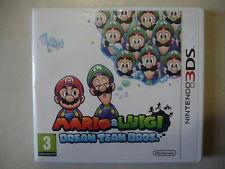 MARIO ET LUIGI DREAM TEAM BROS JEU POUR NINTENDO 3DS COMPLET TTBE