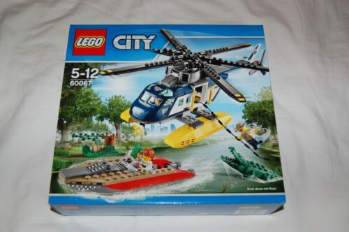 LEGO CITY 60067 Sumpf Polizei Hubschrauber NEU! passt zu 60069,60068,60174,60141